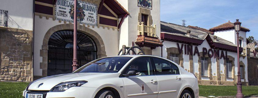 TaxiHaro en Bodegas Bilbainas-Viña Pomal